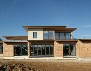 Low-energy Passivhaus design
