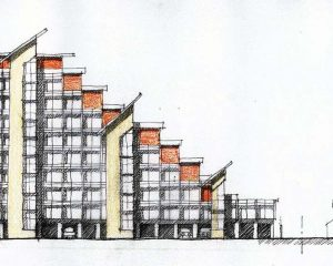 12 storey low environmental impact dwellings